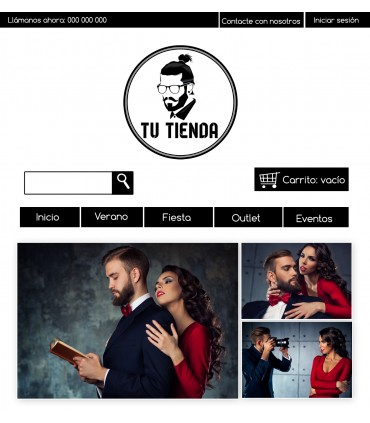 Tienda online moda caballero