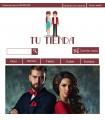 Tienda online moda chica y chico granate y turquesa