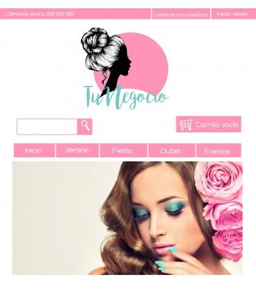 Tienda online para negocio de estetica