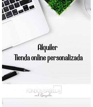 Tienda online personalizada en alquiler