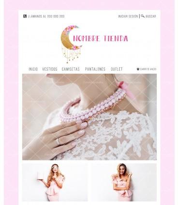 Tienda online moda mujer luna con colgantes