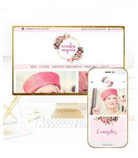 Tienda online con kit profesional moda infantil
