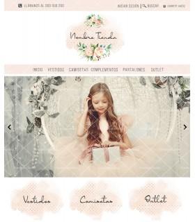 Tienda online con kit profesional niña