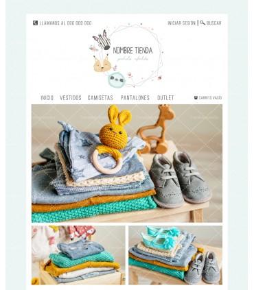 Tienda online moda infantil estilo boho