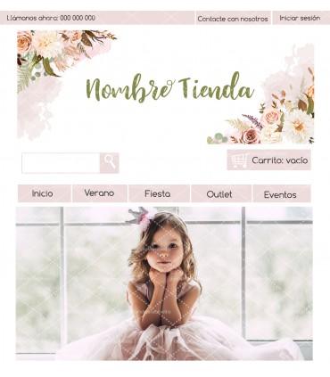 Tienda online infantil barata romántica shabby chic