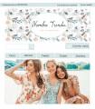 Tienda online barata complementos y moda chica verde y rosa oro