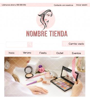 Tienda online barata para negocio de estética
