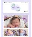 Tienda online infantil barata vintage lila