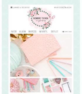 Atrapasueños rosa y plata