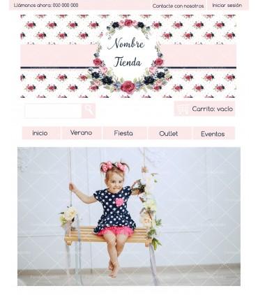 Tienda online primavera niña con kit profesional
