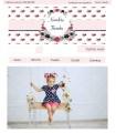 Tienda online barata infantil romántica rosa y azul
