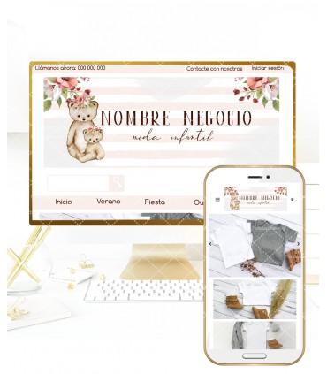 Tienda online elegance mamá osa más logo