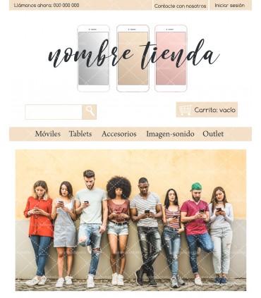 Tienda online barata para venta de móviles
