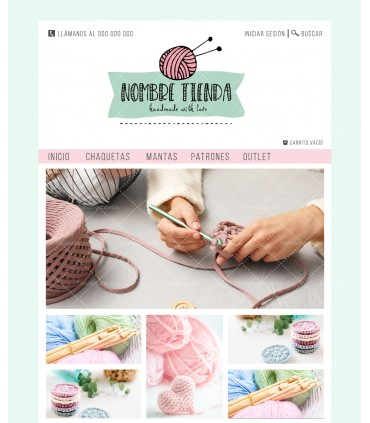 Tienda online barata crochet verde agua
