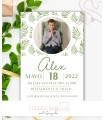 Invitación boda barata Shabby Chic