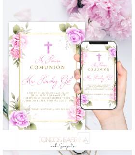 Invitación boda barata estelar