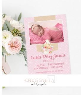 Invitaciones baratas de boda watercolor lila y oro