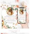 Invitaciones baratas de boda watercolor