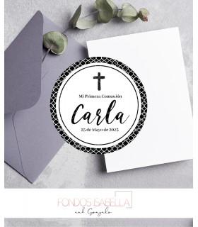 Invitación de boda barata elegante