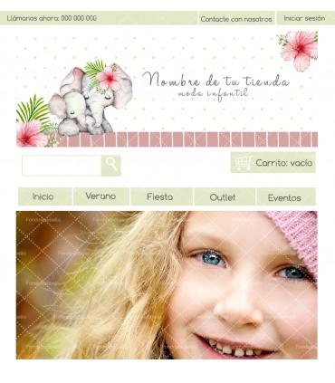 Tienda online moda infantil mami elefante