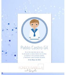 Logotipo Primera Comunión Cecilia