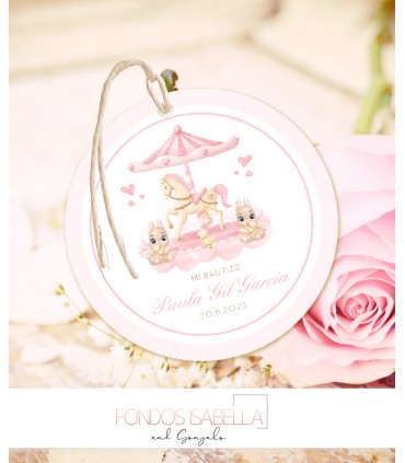 Tienda online barata prestashop elegance estilo shabby chic rosa y verde agua + logo