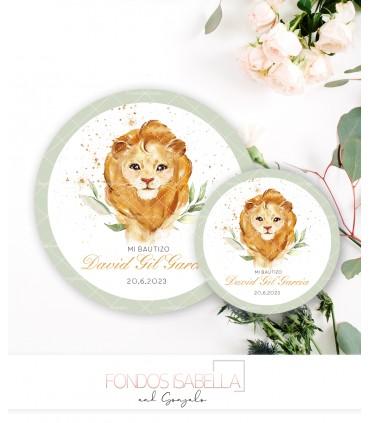 Tienda online elegance lila y turquesa + logo dorado