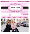 Tienda online ropa mujer negro y rosa