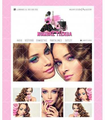 Tienda online moda y complementos chica paris