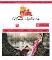 Tienda online moda y complementos chica rojo y oro