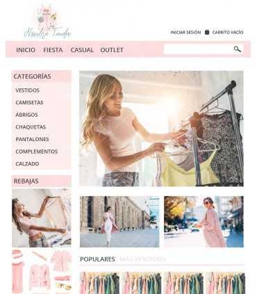 Tienda online moda chica outfit rosa