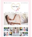 Tienda online moda chica corazon oro y rosa