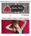 Tienda online moda mujer negro y granate