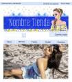 Tienda online moda chica primavera azul y amarillo
