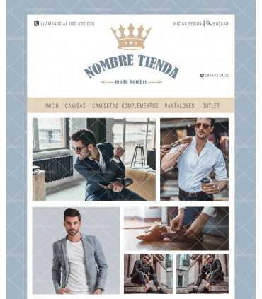 Tienda online moda hombre corona