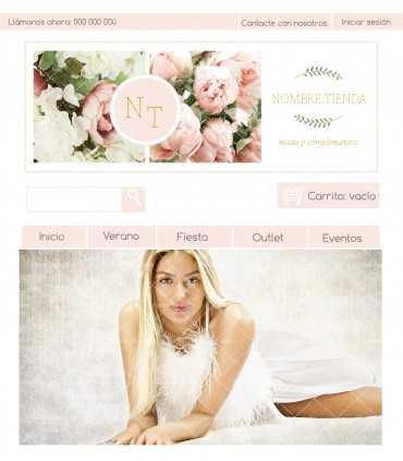 Tienda online moda mujer peonias