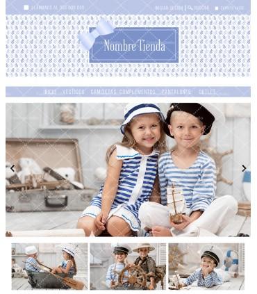 Tienda online elegance infantil azul lazada mas logo