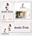 Tienda online chica elegante mas kit profesional