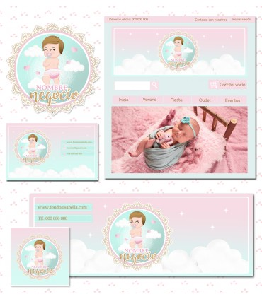Tienda online bebe nube mas kit profesional