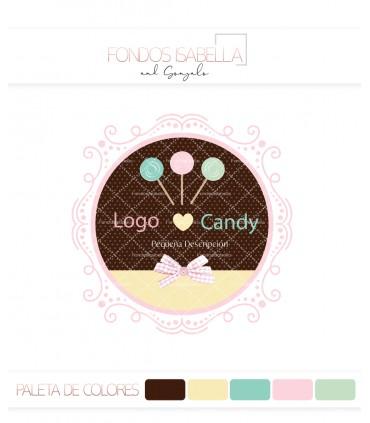 Logo candy piruletas