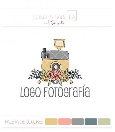 Logo fotografía flores