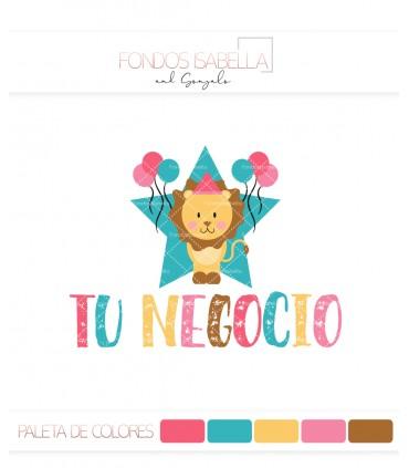 Logo infantil león