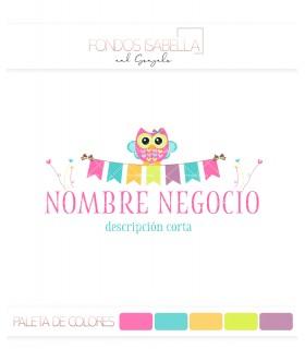 Logo moda infantil